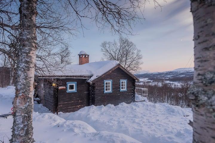 Stenflisan, modern stuga med hänförande utsikt