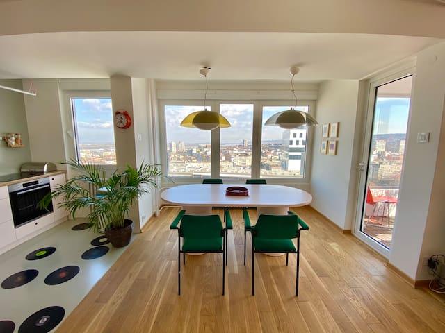 ***DUNAV*** renovated/city center/best view/garage