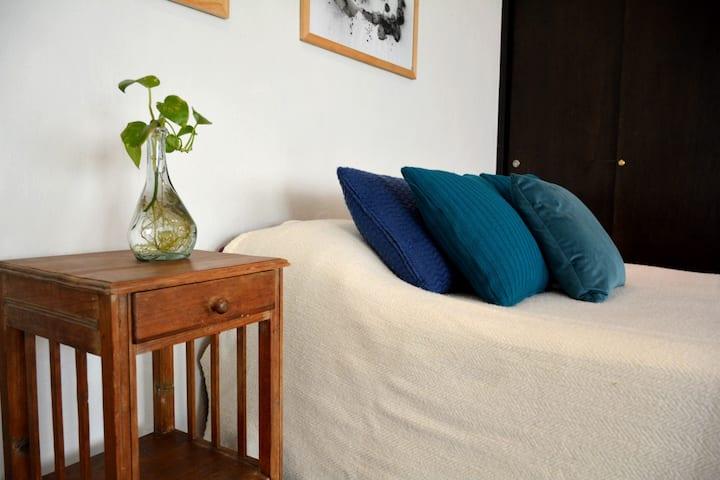 Beautiful studio w/ private terrace  near Condesa