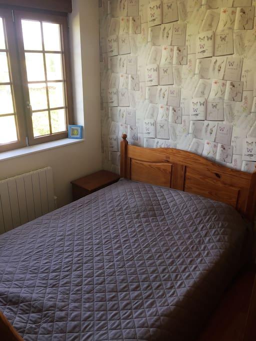 le lit de 140 cm
