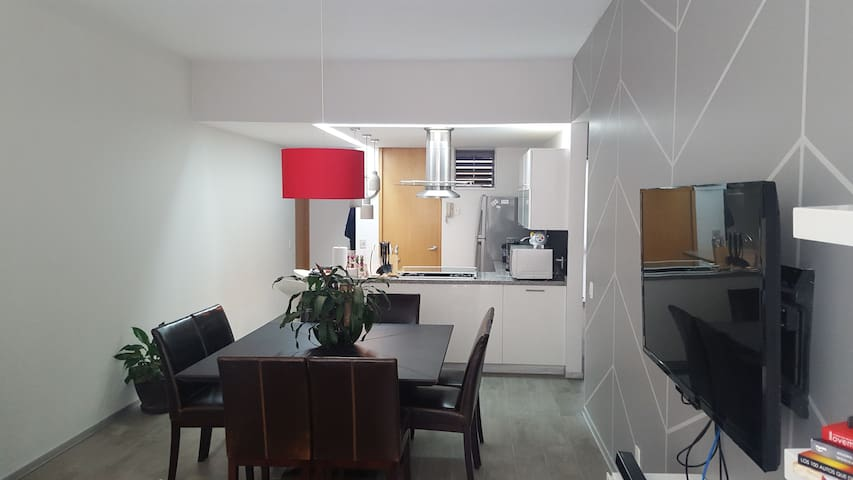 Private room in modern apartment. - Ciudad de México - Byt