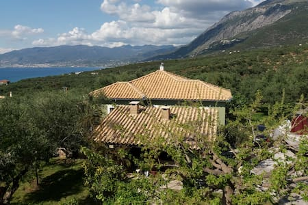 House in our beloved garden gazing the sea - Mikri Mantineia - Talo
