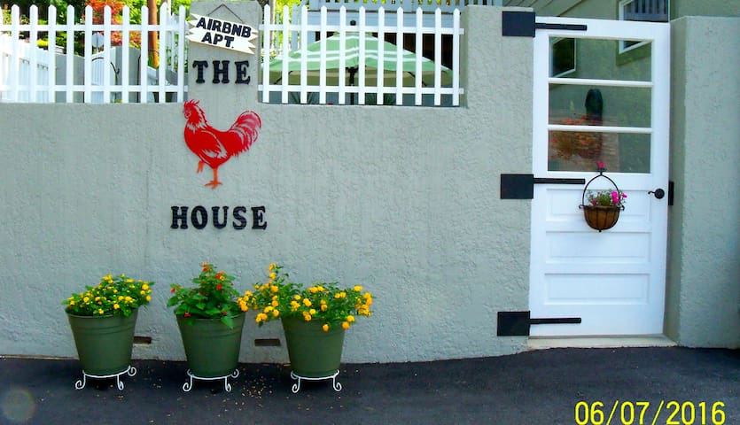 THE RED ROOSTER HOUSE - Saluda - Apartamento