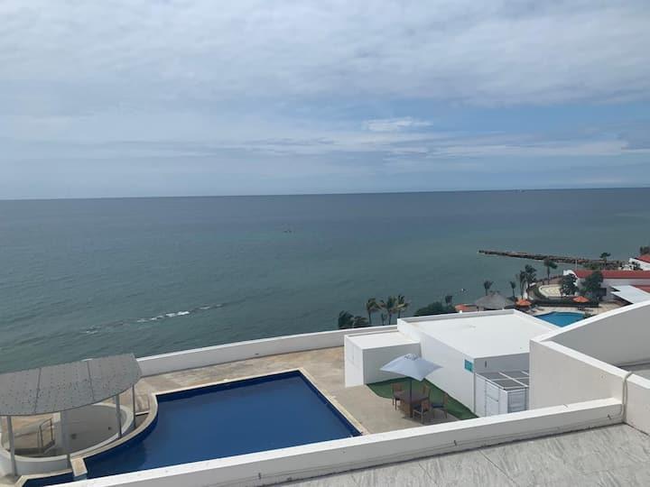Hermoso departamento ciudad del Mar, Manta Ecuador