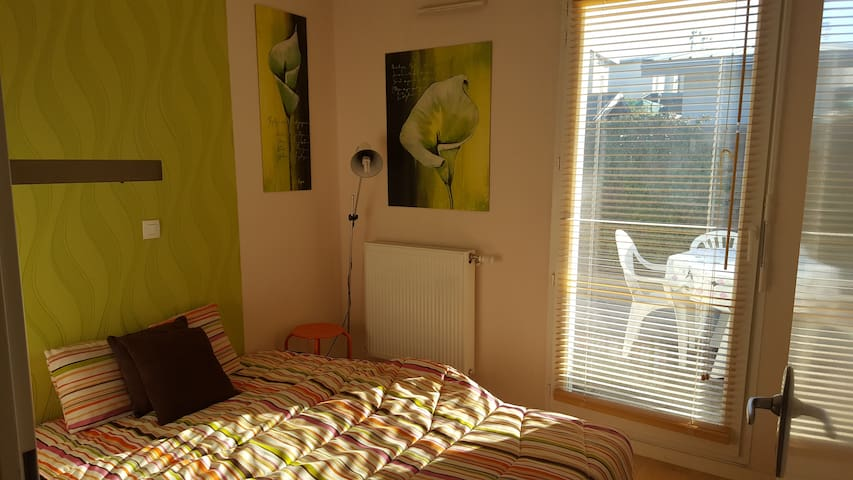 Welcome near Bordeaux in a 4/6 people accomodation