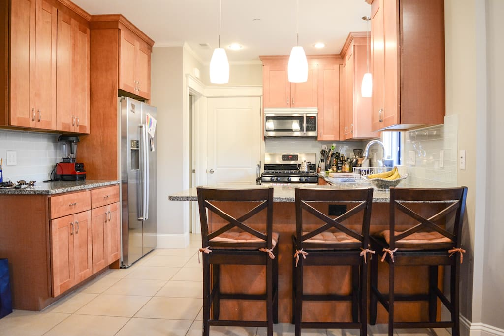 Enjoy making coffee or a meal in our gorgeous, fully-equipped kitchen