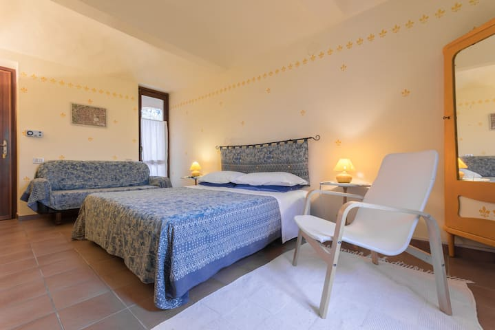 Cascina Ciapilau, double room