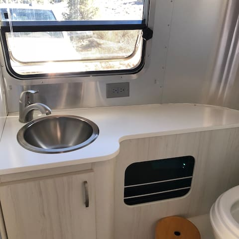 22' Airstream on Goat Ranch
