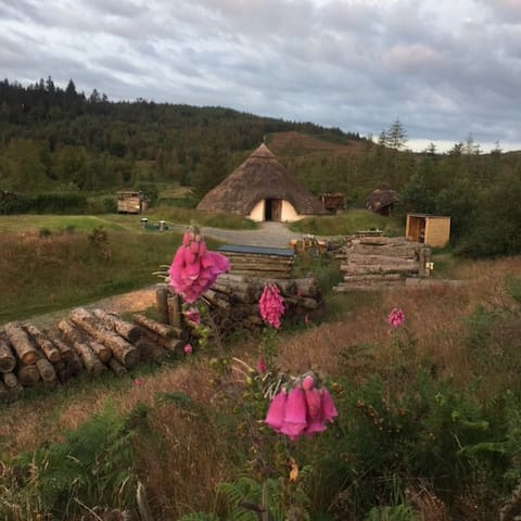 Celtic Roundhouse at Marthrown of Mabie