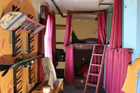 Bunk Bed in Historic Bunk Hotel Downtown