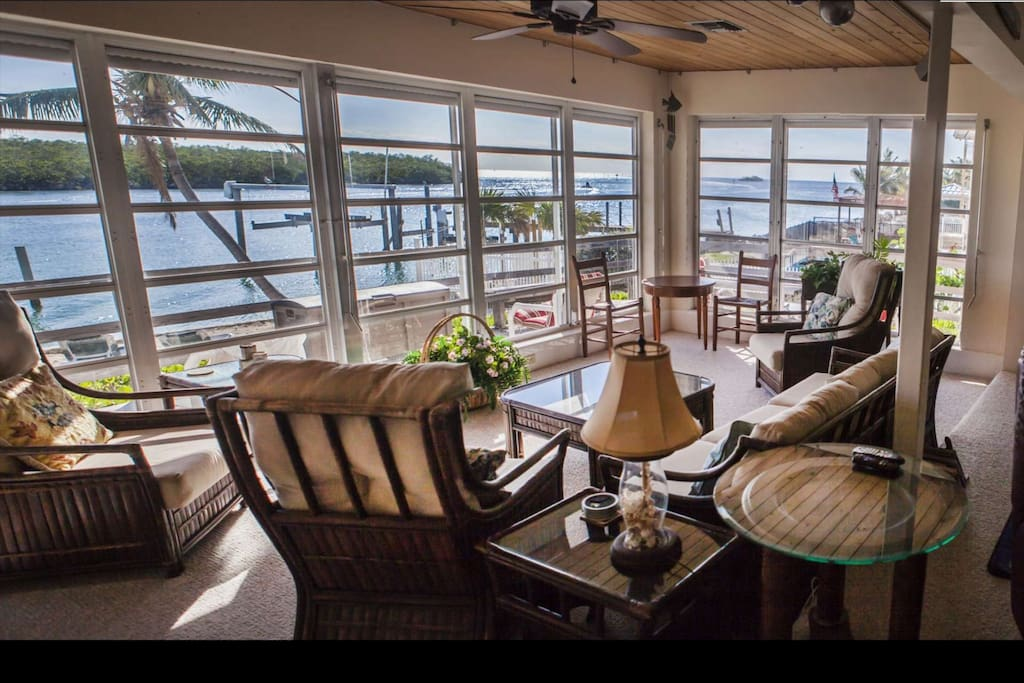 Take in the view from the comfort of your livingroom as you sip on your morning coffee.