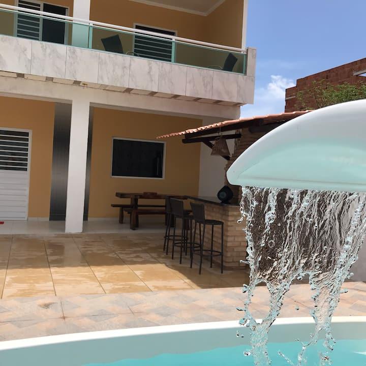 Casa de praia 🏖 com Piscina 🏊♀️  Da Rosy Maragogi