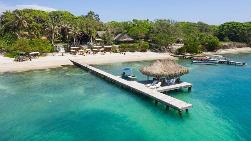 Eco Hotel LUXURY Islas del Rosario
