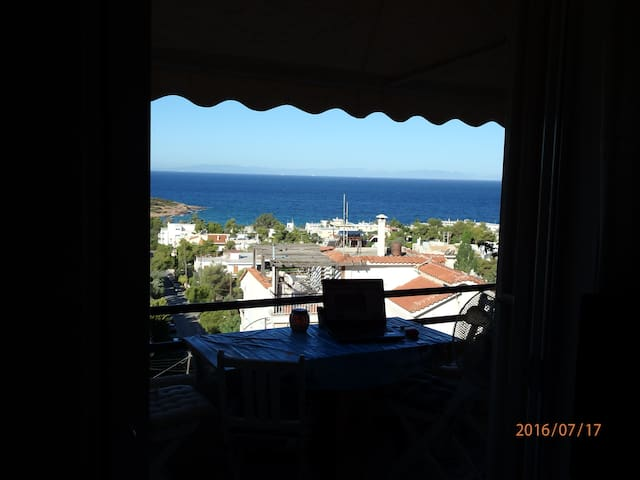 Penthouse View - Saronida - Appartement
