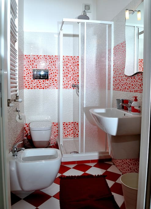 Bagno privato in camera