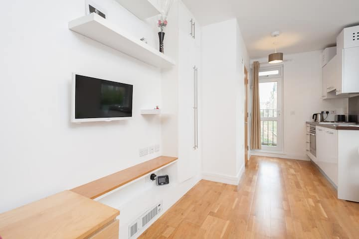 Sunny self contained flat, Hampstead Heath London