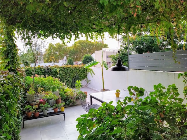 Nice terraces, green, design in the best location
