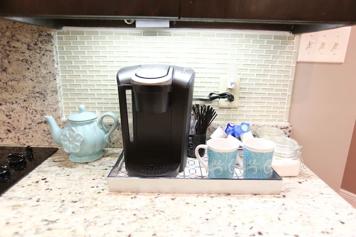 Coffee anyone?  Our coffee station is sure to satisfy!