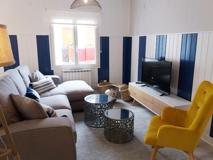 Apartment in Elantxobe/With TERRACE+ wifi.Bizkaia.