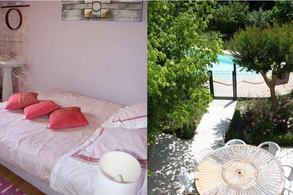 Chambres d 39 h tes margot rose guest houses louer - Chambre d hotes le poteau rose ...