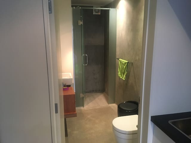 Your own personal bathroom, which has the essentials for everyday care.