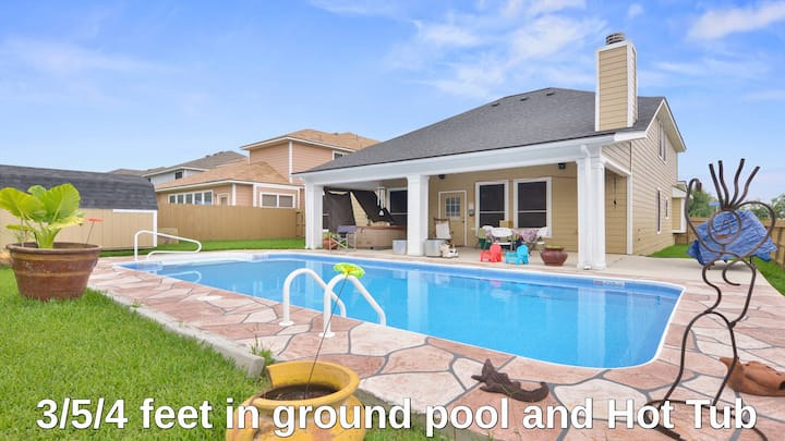BMT/ Lackland AFB corner home w/pool, Riverwalk