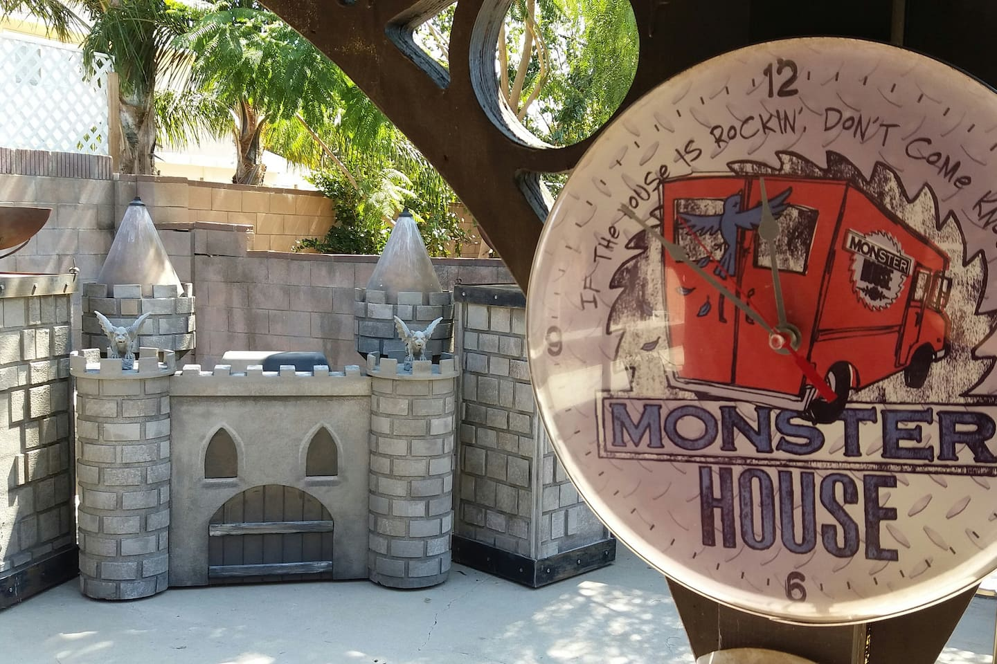 The Official Magic Monster House!