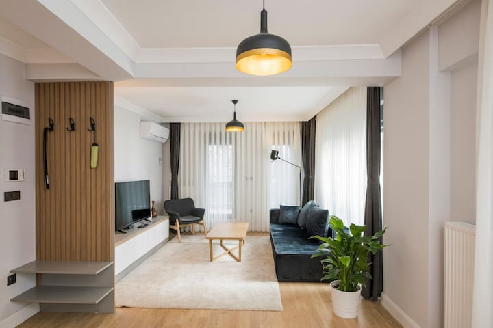 ENTRANCE FLOOR Living room and balcony