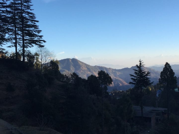 Amazing Himalayan views from each Bedroom