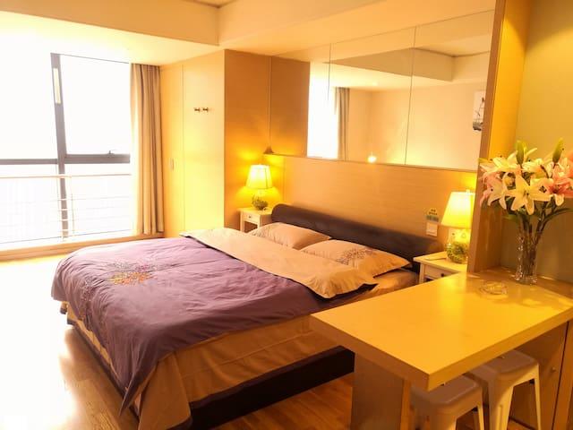 西安唐韵公寓酒店精装公寓大床房,只为少数人享有