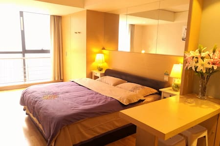 西安唐韵公寓酒店精装公寓大床房,只为少数人享有 - Lejlighed