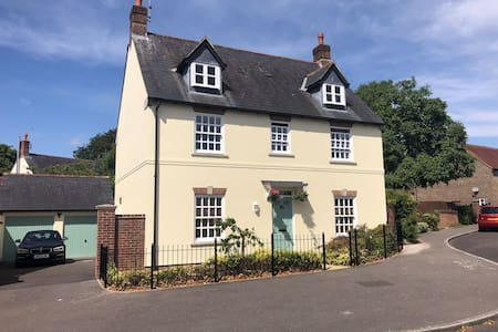 Large Double in Village Setting near Dorchester