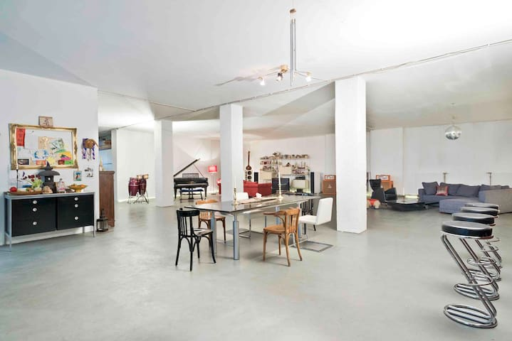 400m2 Loft - 8 minute walk to Central Station II