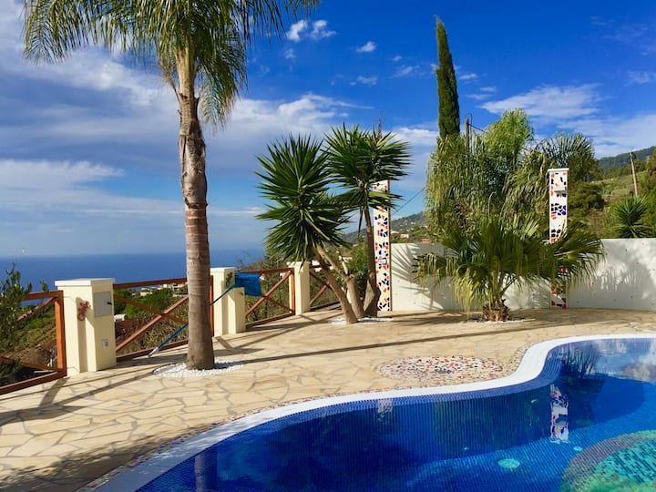 Casa Lomo Santo-Finca mit beheiztem Pool