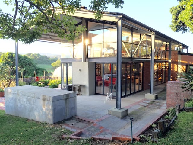 Red Shed - Relaxed Farm Stay - Port Elizabeth - Dom