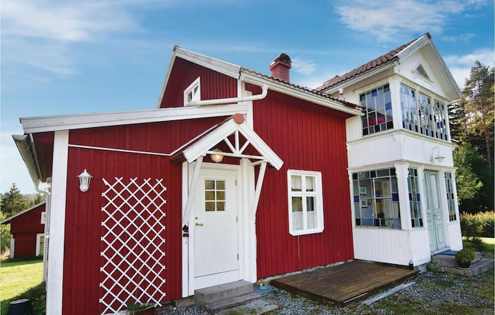 Awesome home in Årjäng with WiFi and 4 Bedrooms