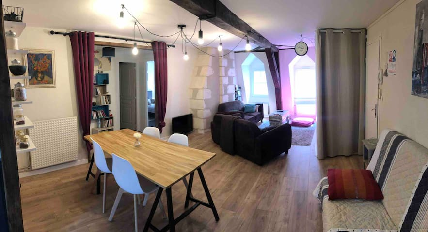Bel appartement, lumineux, hyper centre