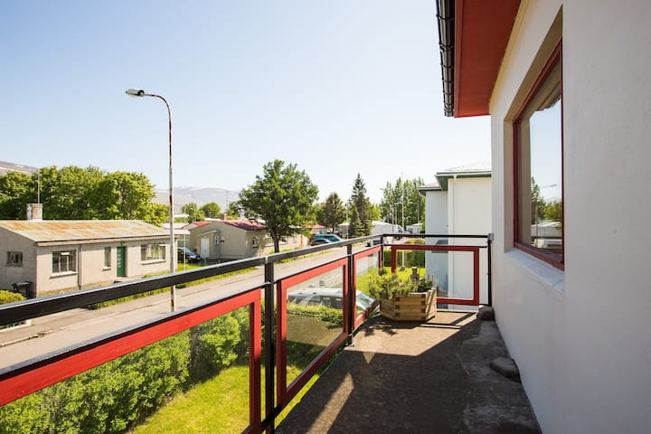 Spacious balcony room - Sólvellir - 202