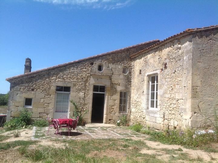 Chambre de charme sur site historique du XVème s.