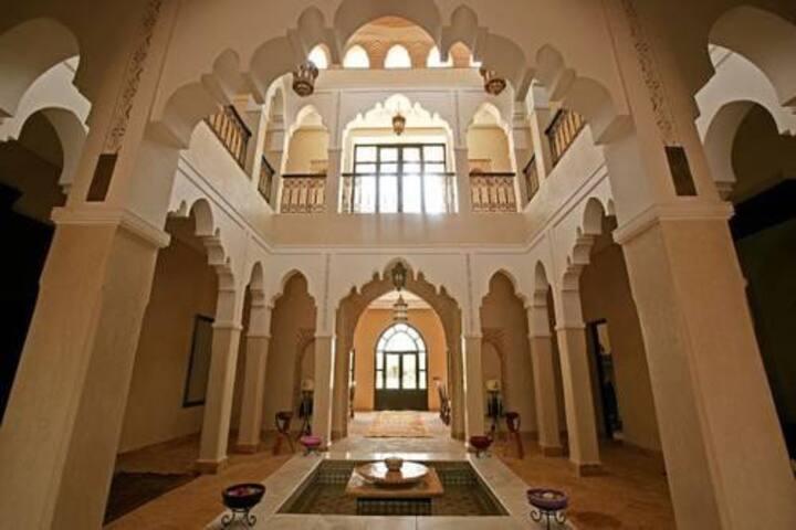 Magnifique Riad dans un parc naturel d'1 hectare