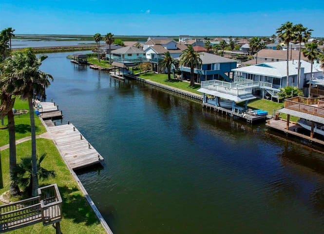 Canal Front Home with Bay View!