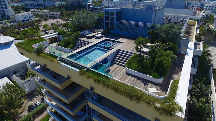 South Beach | Exclusive Beachfront Penthouse + Rooftop Pool