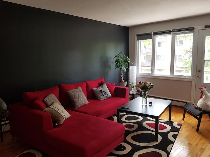 Appartment (3 rooms) for short/medium stay