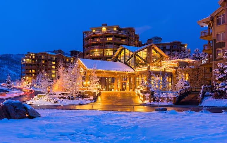 Park City Resort Week 12/16-12/23/17 (ski-in/out)