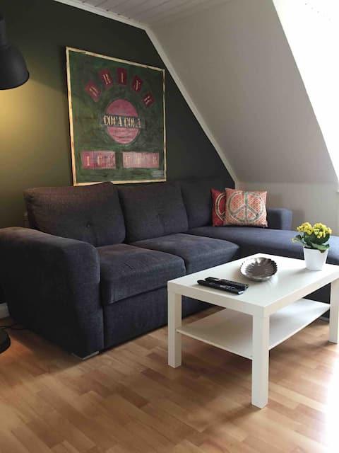 Pollewood, apartamento aconchegante e bem equipado no 1º andar