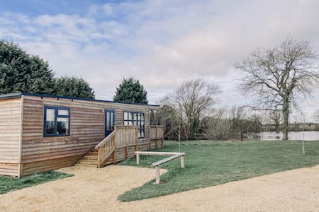 Woodlakes Park, Larch Log Cabin,  Norfolk