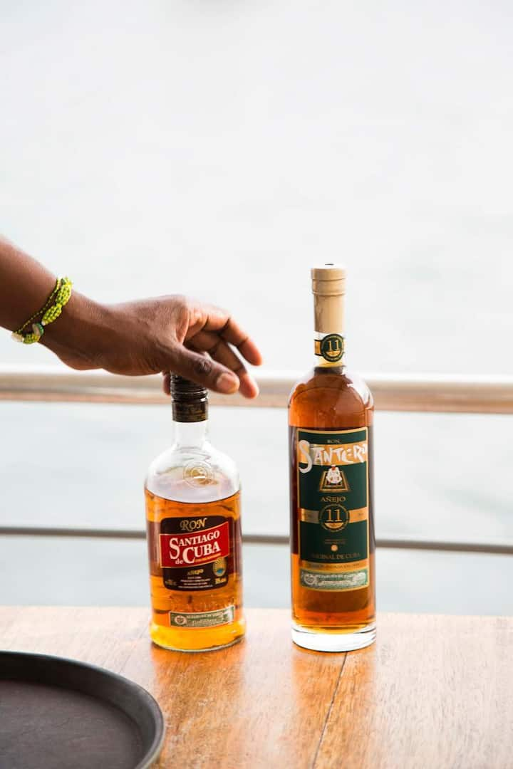 Enjoy premium Cuban rums