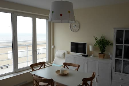 Appart 1 chambre (4 p.) vue sur mer - St-Idesbald - Коксейде