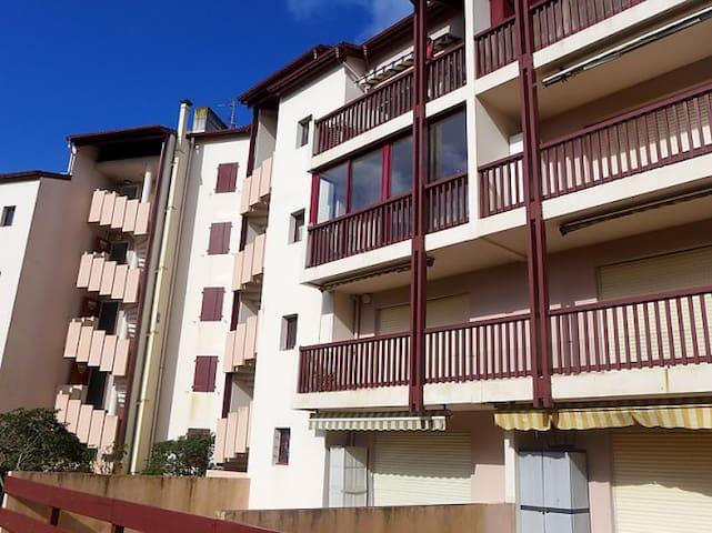 Vue de l'extérieur sur l'appartement.