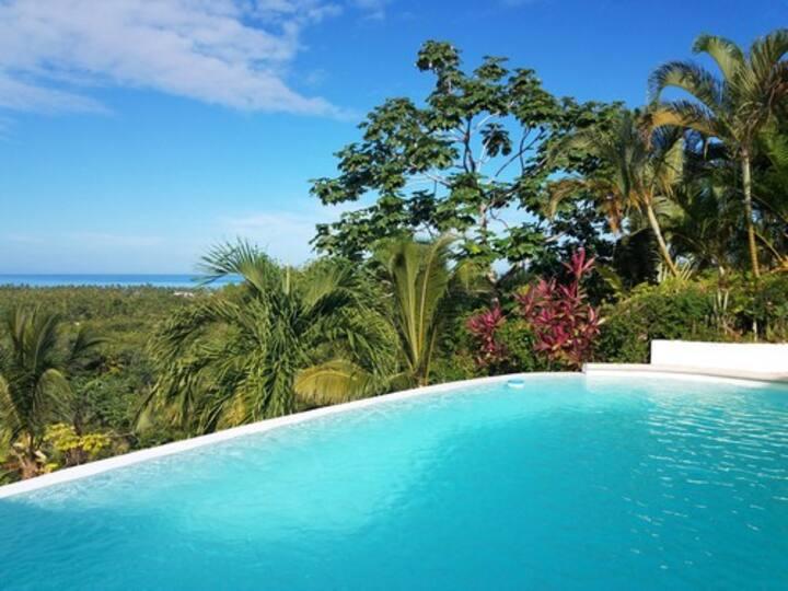 ️☀️Quite villa 6 pax ️☀️magnificent sea view